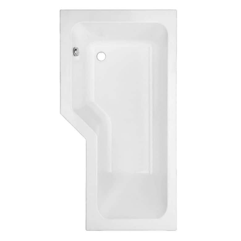 Baignoire droite toplax gauche audace salle de bains for Baignoire fond plat
