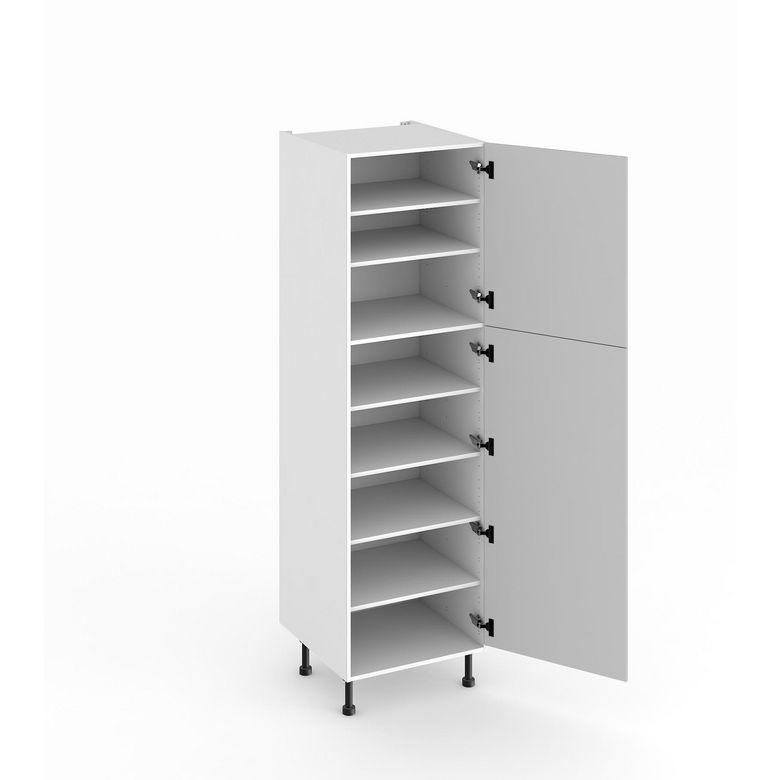 colonne de cuisine de rangement avec 6 tablettes cuisine. Black Bedroom Furniture Sets. Home Design Ideas