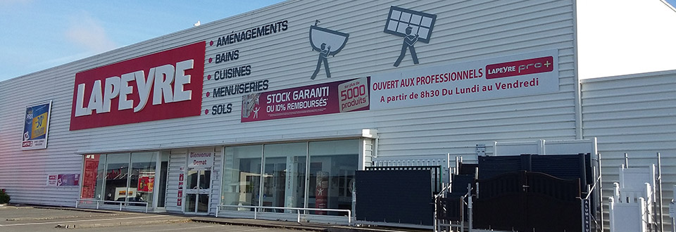 Magasin Lapeyre Brest