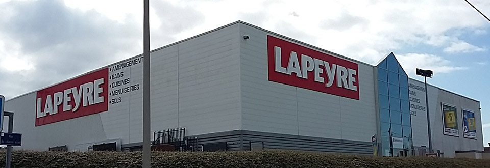 Magasin Lapeyre Cherbourg