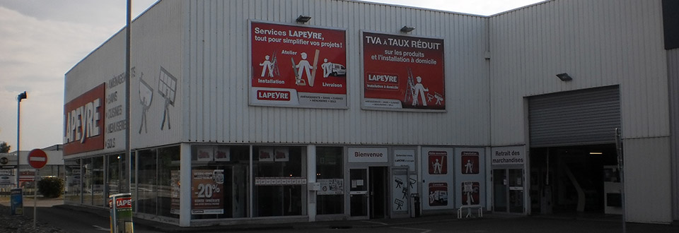 Magasin Lapeyre Mulhouse