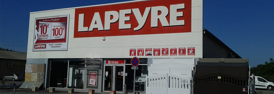 Horaires ouverture lapeyre accueil nos magasins lapeyre pamiers bains cui - Lapeyre heure d ouverture ...