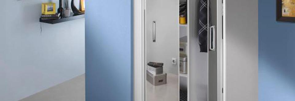 Les portes de placard pliantes for Porte miroir pliante