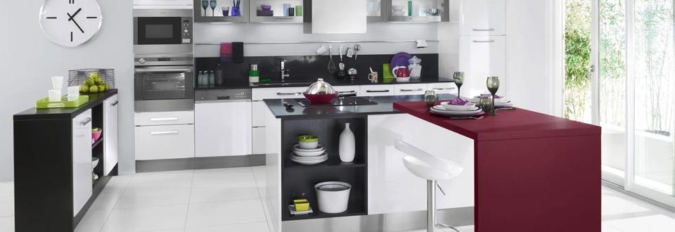 Les cuisines lapeyre contemporaines ou authentiques - Lapeyre cuisine carat ...