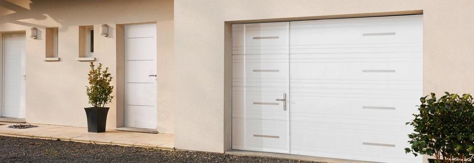 Les portes de garage sectionnelles - Monter une porte de garage ...