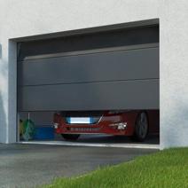Porte De Garage Columbia Sectionnelle Pr Mont E Motoris E Somfy Ext Rieur