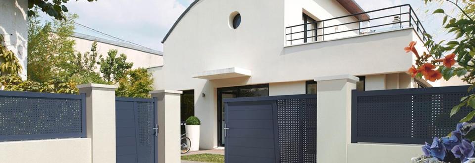 un interphone sur votre portail. Black Bedroom Furniture Sets. Home Design Ideas