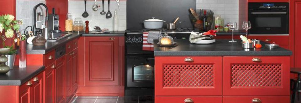 Des cuisines contemporaines et color es for Agencement cuisine style bistrot
