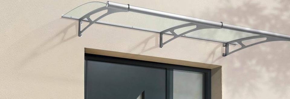 Poser une marquise sur votre fa ade de maison - Auvent en verre pour maison ...