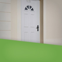 corni re anti effraction portes. Black Bedroom Furniture Sets. Home Design Ideas