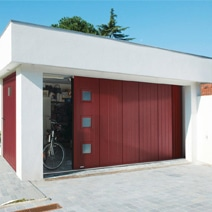 Les portes de garage enroulables for Porte de garage coulissante motorisee lapeyre