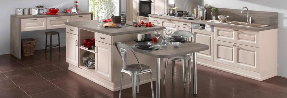 Une cuisine sur mesure le plus lapeyre for Cuisine avec retour table