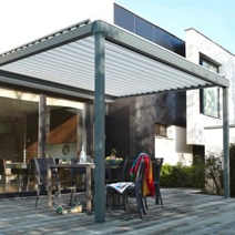 Toit de terrasse alu adossable dans sa connaissance de la voiture de garage - Auvent transparante terras ...