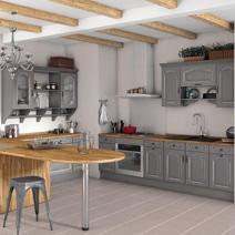 les cuisines couleur à la carte - Meuble Cuisine Couleur Vanille