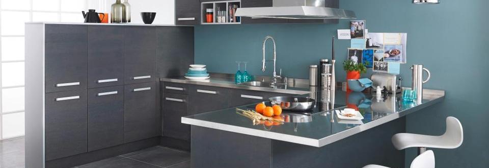 Les meubles de cuisine en bois - Facade meuble cuisine lapeyre ...