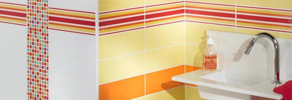 Choisir la couleur de votre carrelage salle de bain - Couleur peinture carrelage salle de bain ...