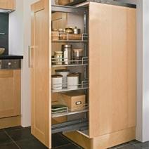 Poser des meubles de salle de bain - Meuble de rangement pour petite cuisine ...