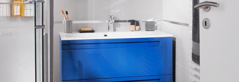 Les meubles gain de place dans la salle de bains - Gain de place salle de bain ...