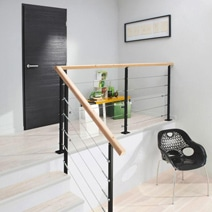 Des balustrades pour m tamorphoser l espace - Balustrade inox leroy merlin ...