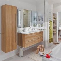 Les carrelages de salle de bains - Meuble de salle de bains lapeyre ...