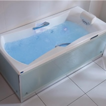 baignoire baln o d 39 angle mod le lagune syst me perle. Black Bedroom Furniture Sets. Home Design Ideas