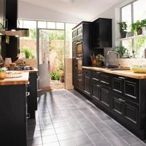 Osez le style et la couleur en cuisine - Lapeyre carrelage cuisine ...