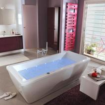 Tablier pour baignoire cyclade salle de bains - Baignoire balneo lapeyre ...