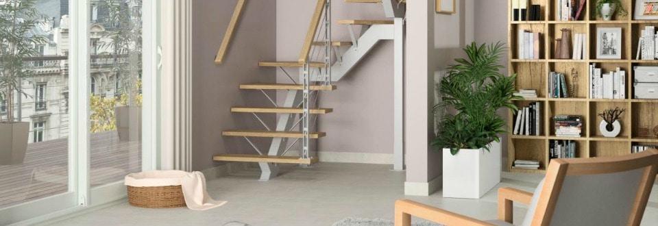 am nager un placard sous escaliers d clic. Black Bedroom Furniture Sets. Home Design Ideas