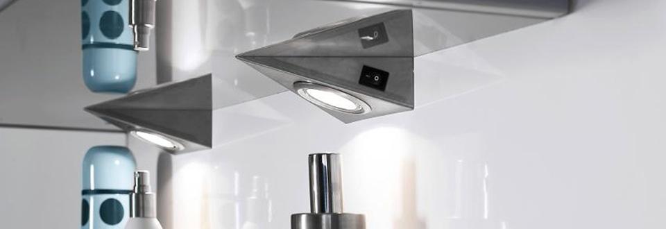 Pleins feux sur l clairage de cuisine for Eclairage meuble de cuisine