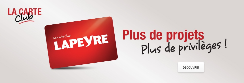 Carte Club Lapeyre