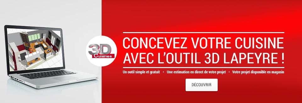 Meubles mod les de cuisine cuisine lapeyre - Lapeyre cuisine 3d ...