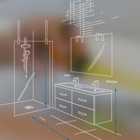 Fiche projet salle de bains
