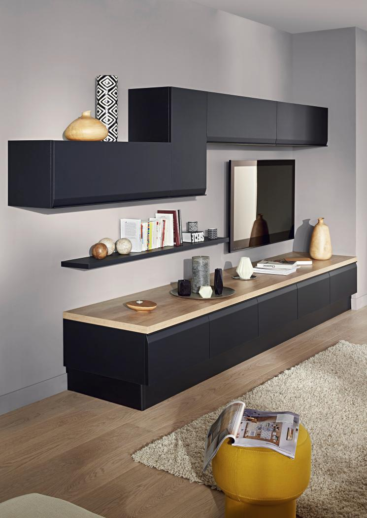 et pourquoi pas la cuisine dans le salon ou le contraire. Black Bedroom Furniture Sets. Home Design Ideas