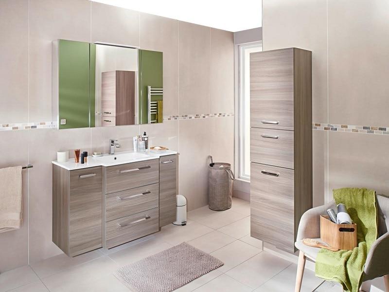 Les meubles de salle de bains Créamix réveillent votre créativité