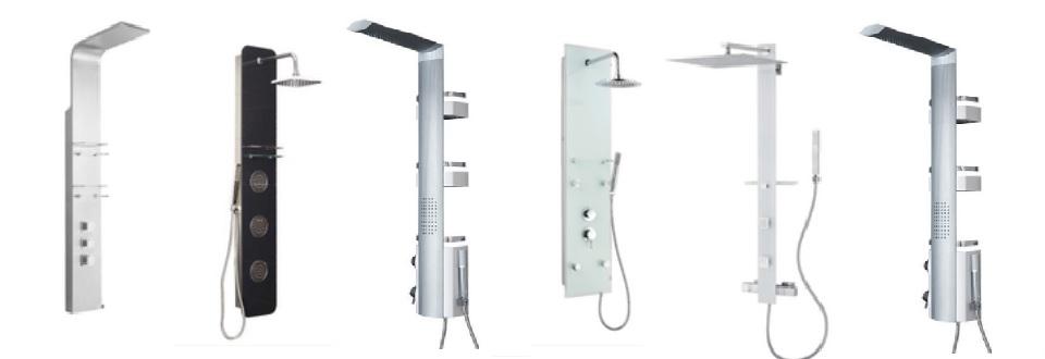 Les colonnes de douche hydromassantes - Lapeyre colonne douche ...