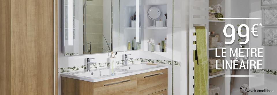 Parquet salle de bain lapeyre solutions pour la for Parquet salle de bain lapeyre