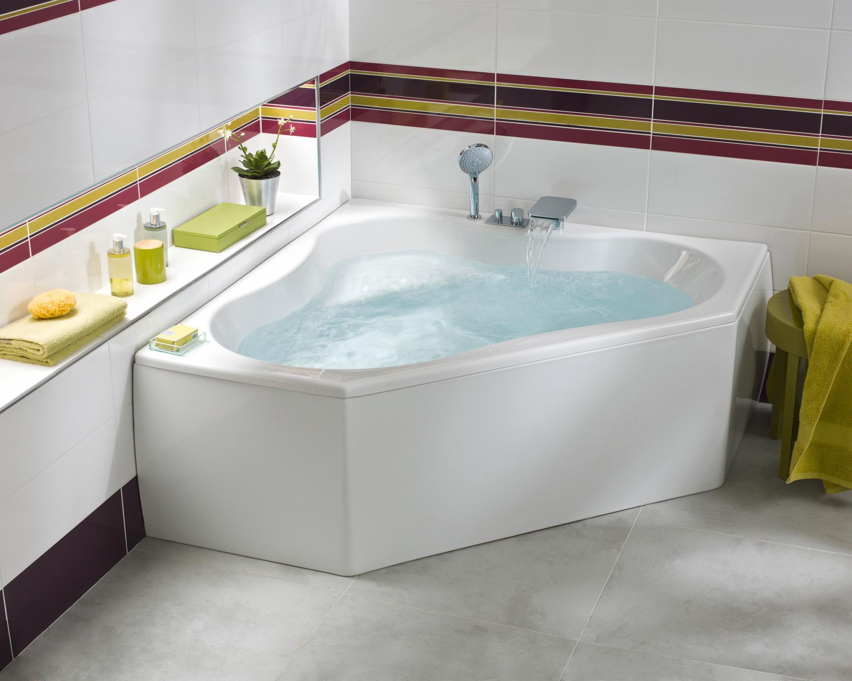 Baignoire gain de place castorama maison design - Castorama salle de bain baignoire ...