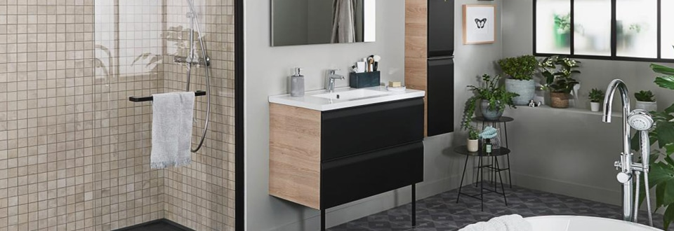 luminaire salle de bain lapeyre. Black Bedroom Furniture Sets. Home Design Ideas