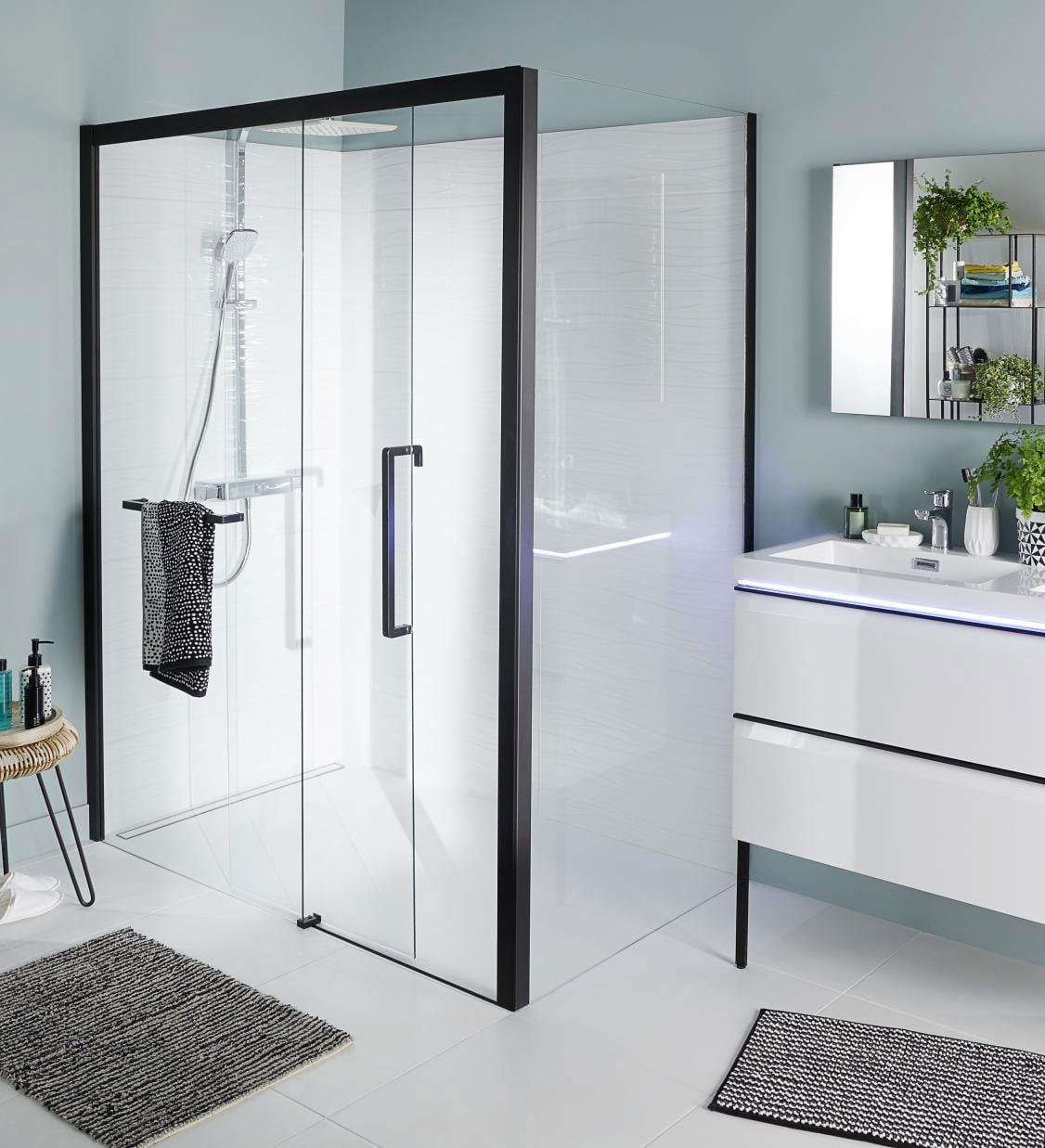 idée agencement salle de bain – lapeyre