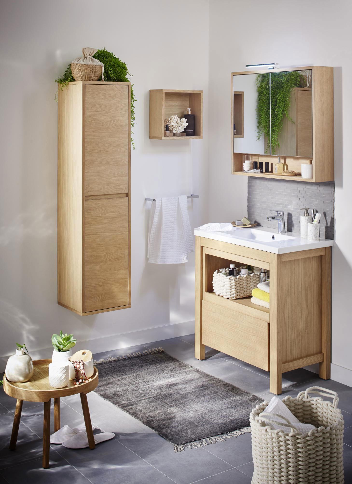 Sol Salle De Bain Imitation Parquet inspiration salle de bain et petite salle de bain – lapeyre