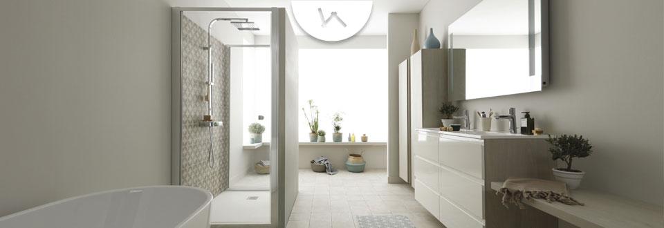 D sign lustres blanc - Salle de bain lapeyre ...