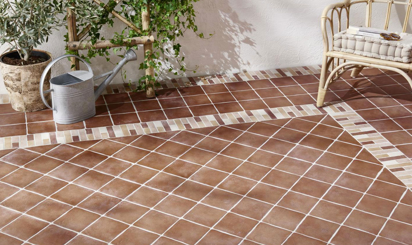 Les diff rents mat riaux du carrelage for 2 carrelage different