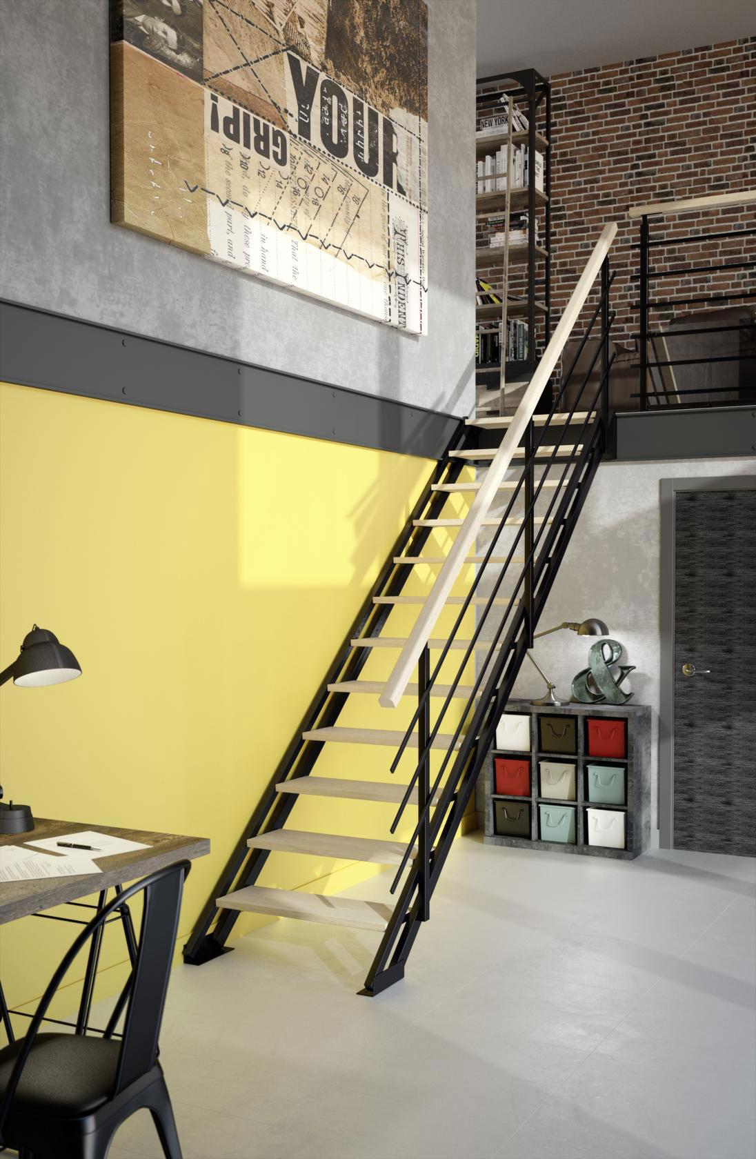 Escalier Bois Metal Noir bien choisir votre escalier en bois