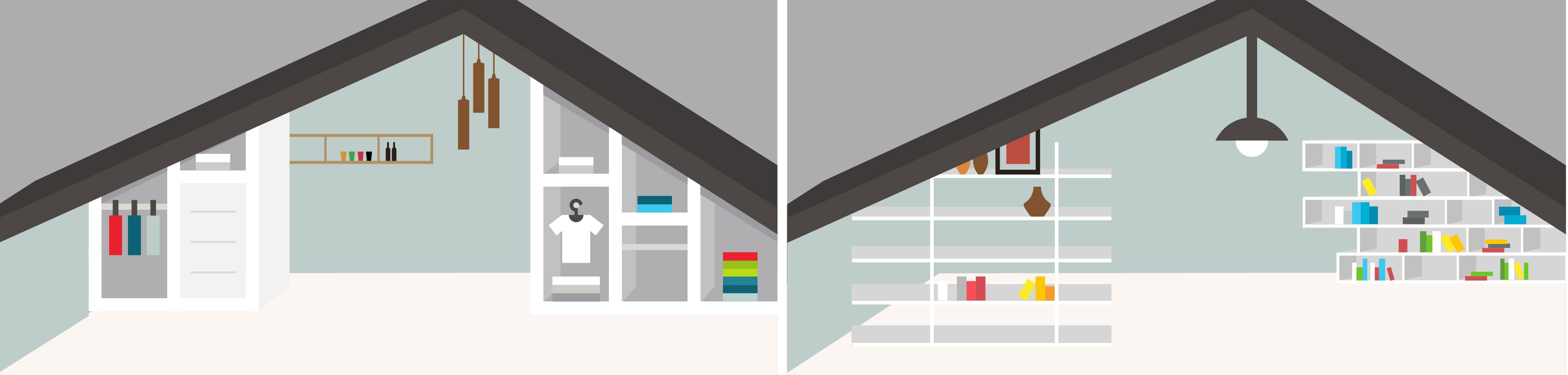 am nagement combles comment am nager ses combles. Black Bedroom Furniture Sets. Home Design Ideas