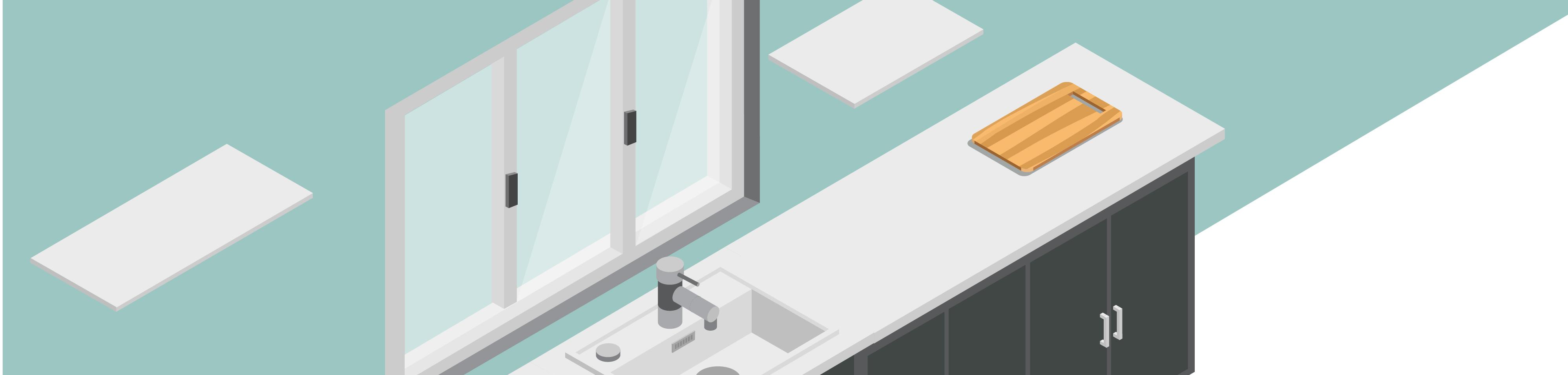Spot Au Dessus Evier Cuisine fenêtre dans la cuisine : pourquoi créer une ouverture ?