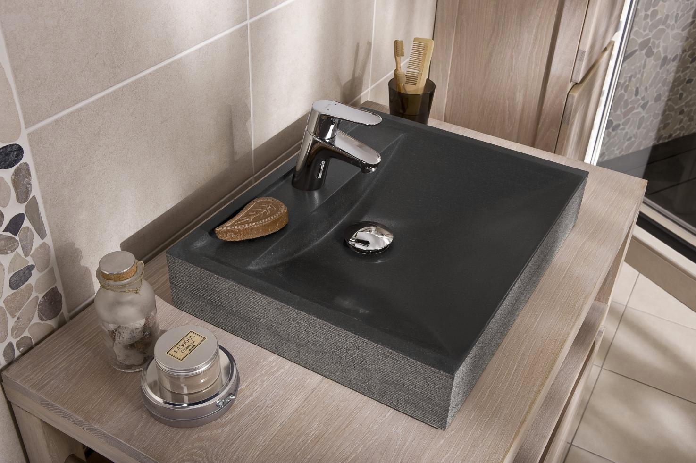 Plan Vasque En Pierre quelles matières pour un plan de travail de salle de bain ?
