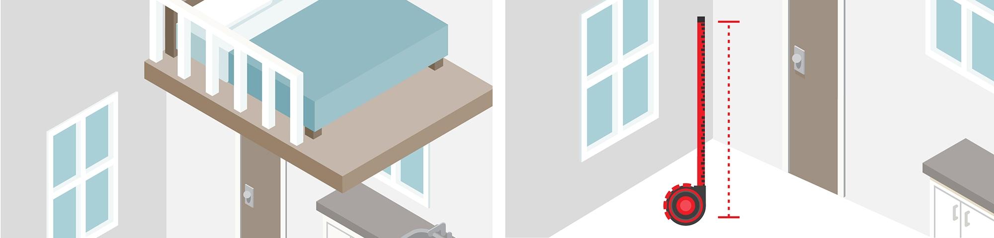 Processus remplacement échelle de meunier par un escalier